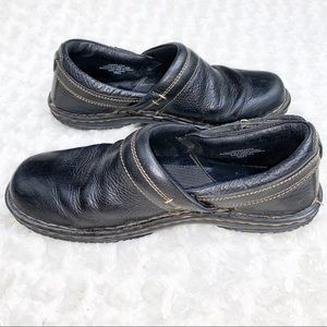 Born Black Slip On Shoes Size 10